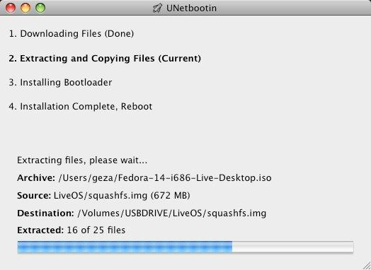 unetbootin - Multiboot USB Screenshot4